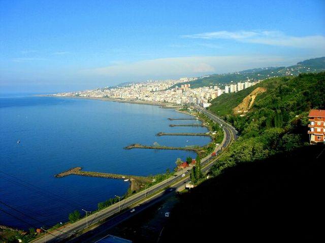 Trabzonda Gezilecek Yerler ve Mekanlar  Haritası